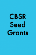 CBSR Seed Grants