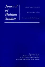 journal of haitian studies cover