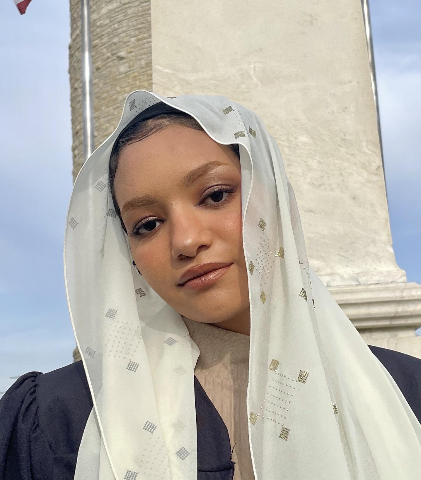 Portrait of Zainab Bansfield