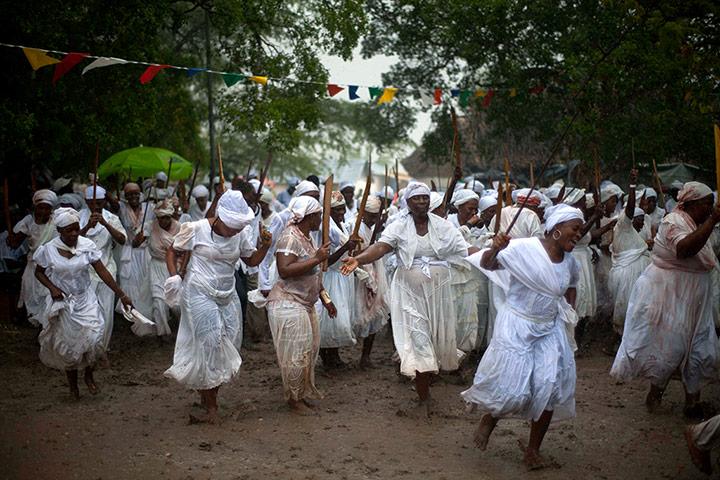 haiti ritual dancing
