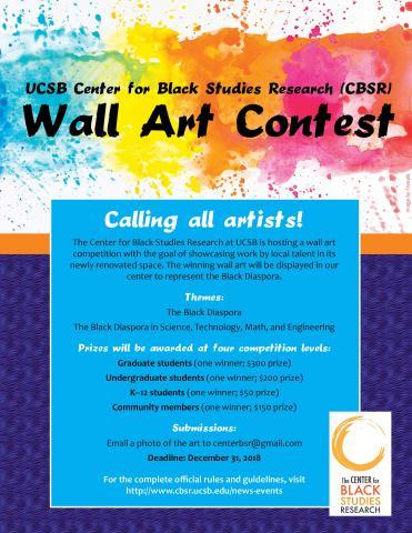 CBSR Wall Art Contest Flyer