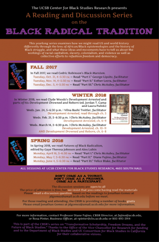 Reading series poster